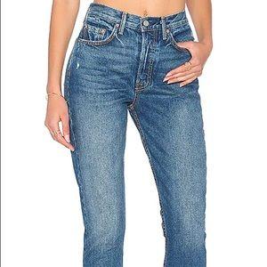 GRLFRND Karolina high rise slim fit jean